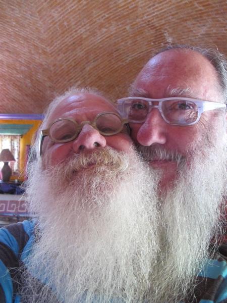One Beard....