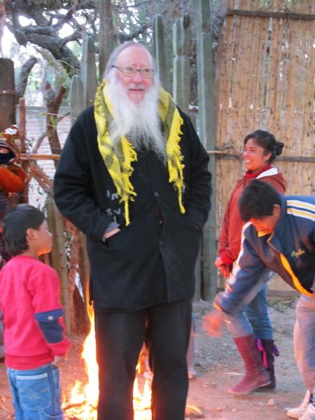 Richard and the kids